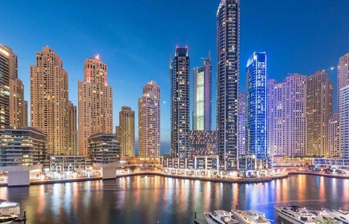 نمای شهر دبی