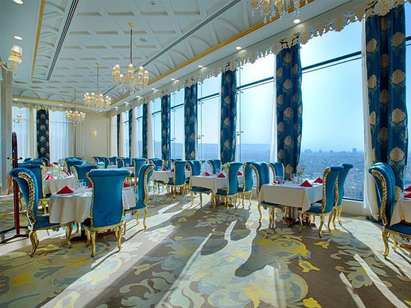 رستوران فیروزه هتل الماس2 مشهد