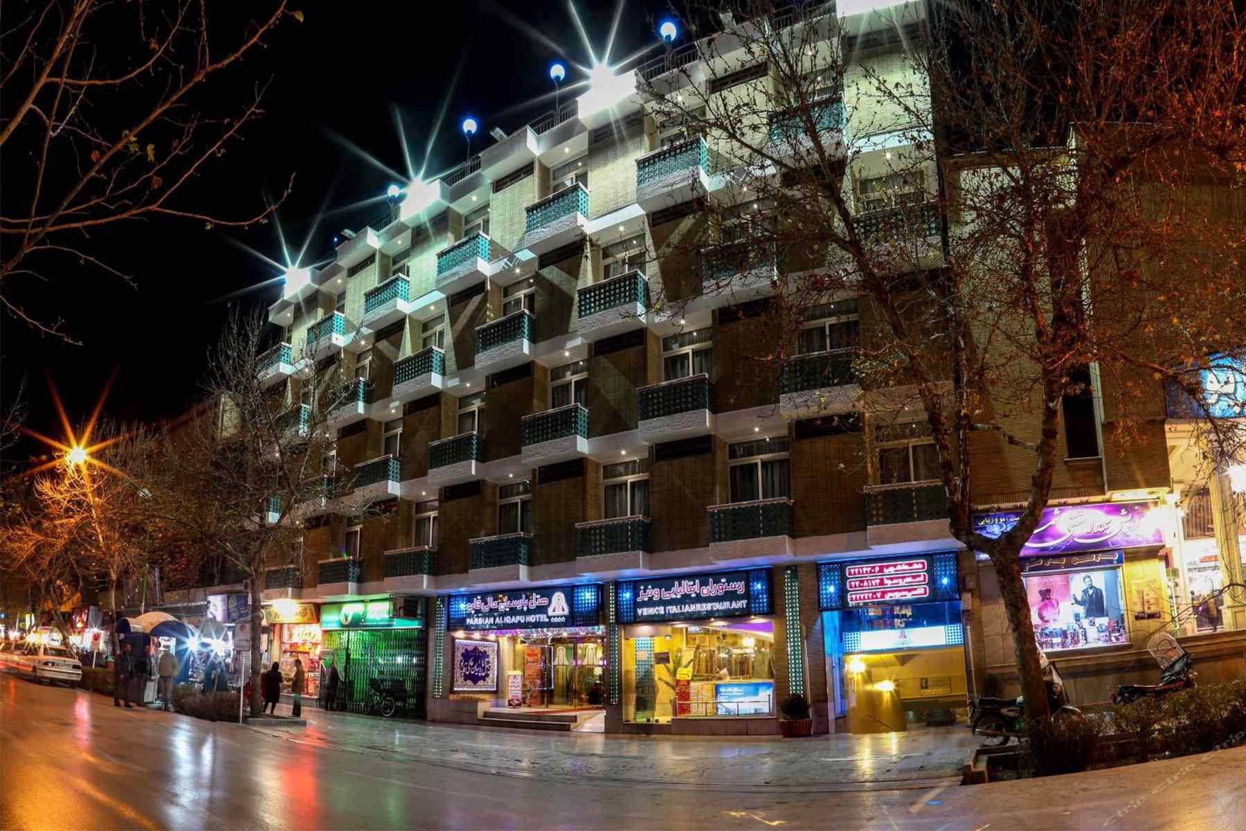 تور لوکس اصفهان هتل عالی قاپو با قطار و هواپیما
