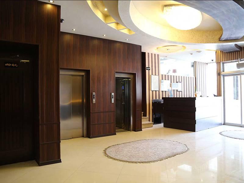 پذیرش هتل الوند مشهد