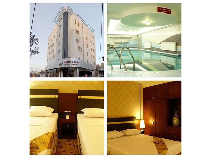 اتاق های هتل عماد مشهد
