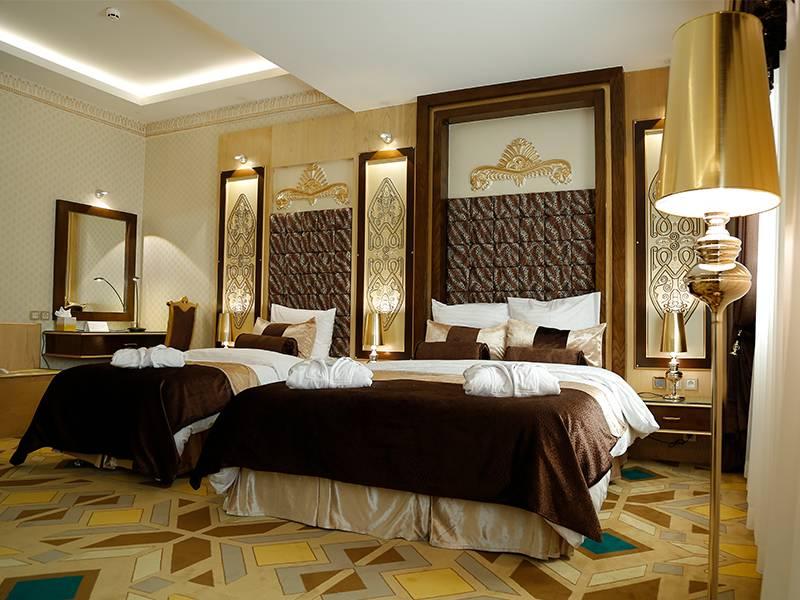 اتاق سه تخته هتل الماس2 مشهد