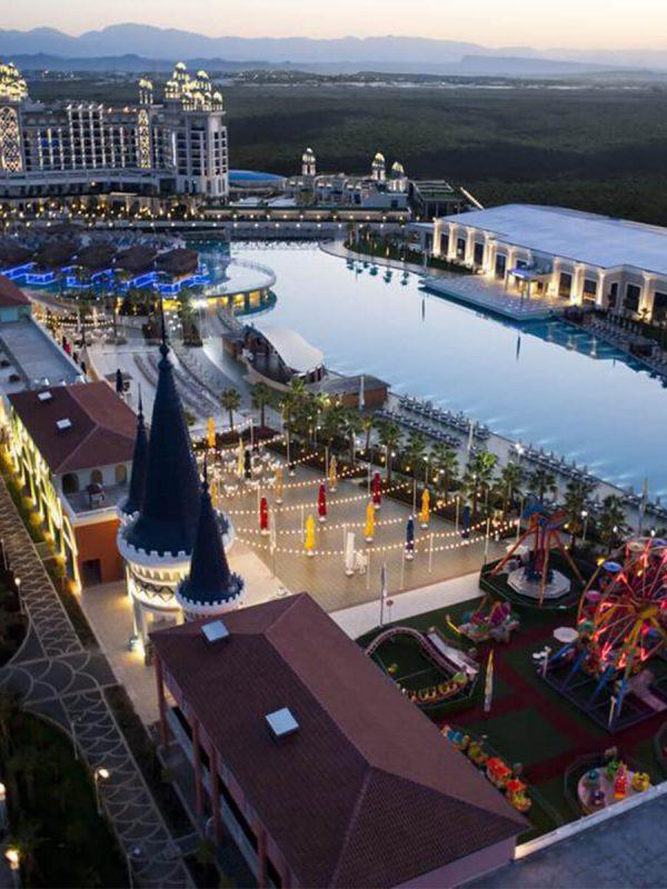 تور آنتالیا هتل لاکچری گراندا ویژه 4 و 9 فروردین نوروز 98