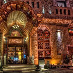 تور شیراز زمینی و هوایی در هتل کریم خان چهار ستاره