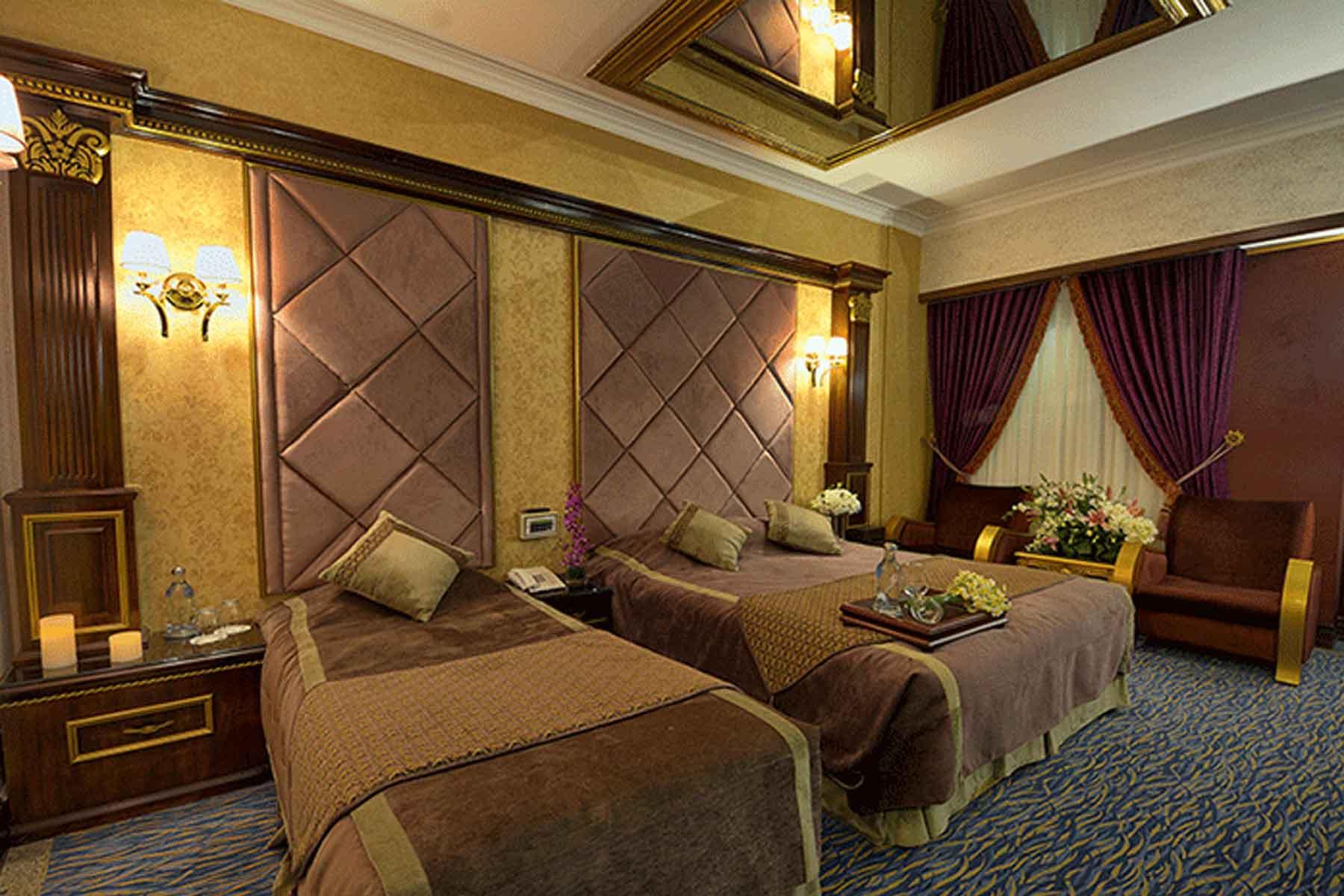 تور مشهد هتل بین المللی قصر