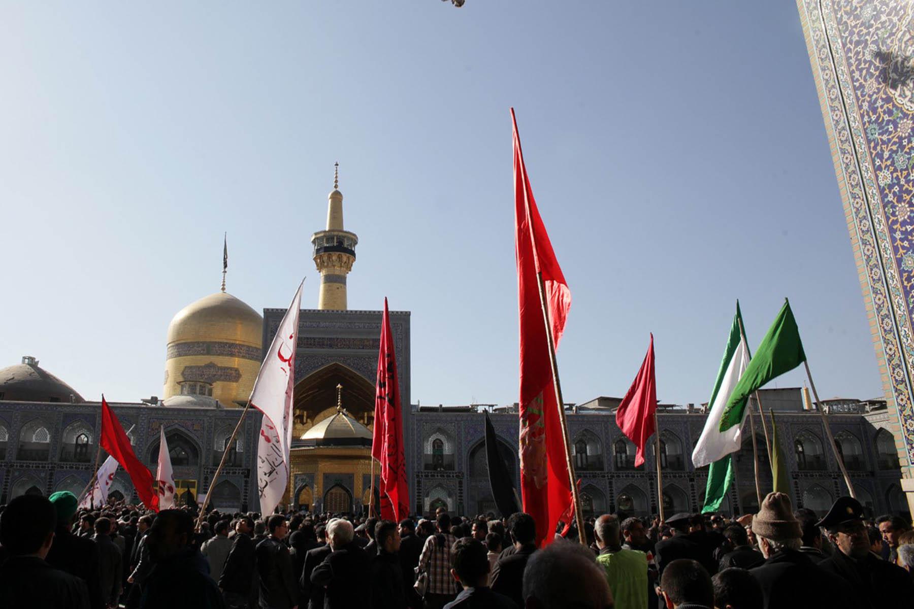 مراسم تاسوعا و عاشورا در مشهد