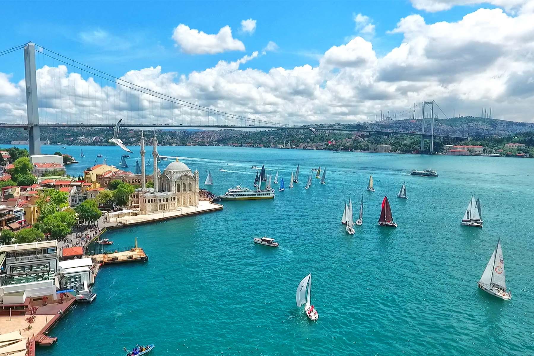 تور آنتالیا + استانبول