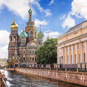 تور مسکو + سن پترزبورگ