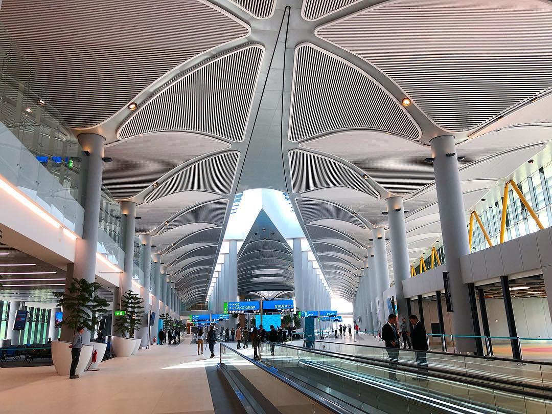 معماری فرودگاه جدید استانبول
